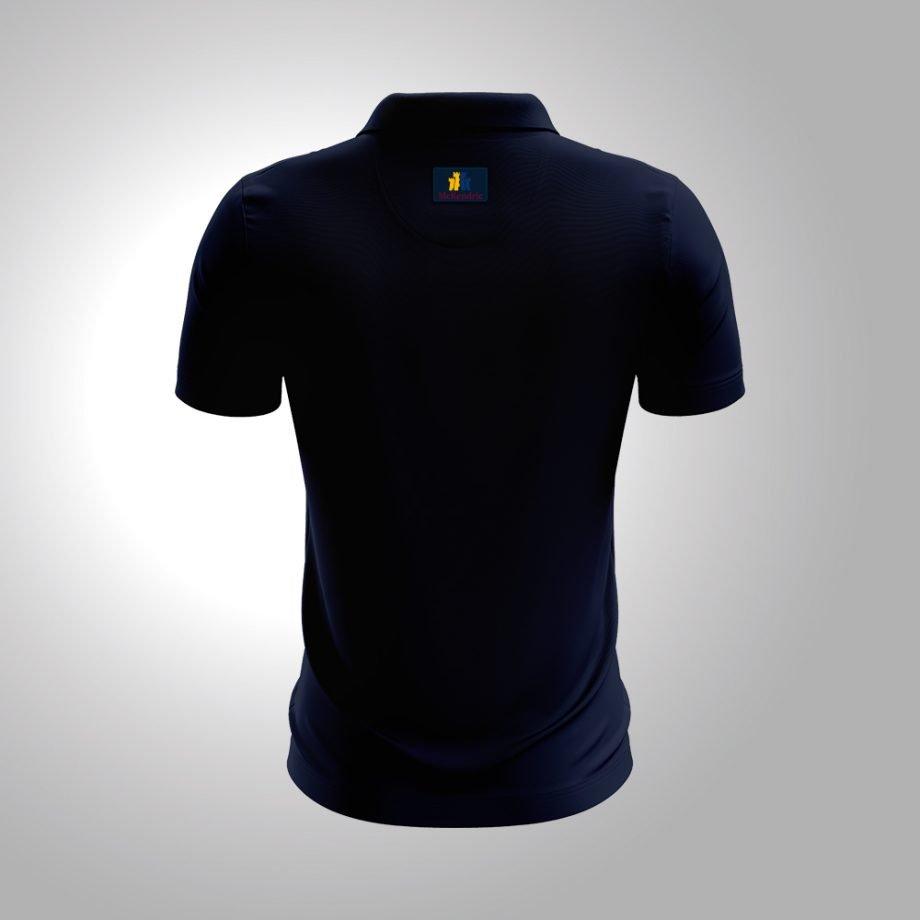 McKendric Xtreme Performance polo shirt Man Back Glenrothes