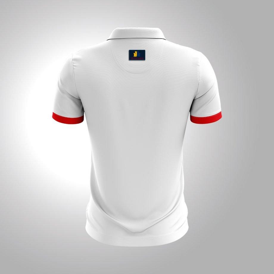 McKendric Xtreme Performance polo shirt Man Back Hyvinkää