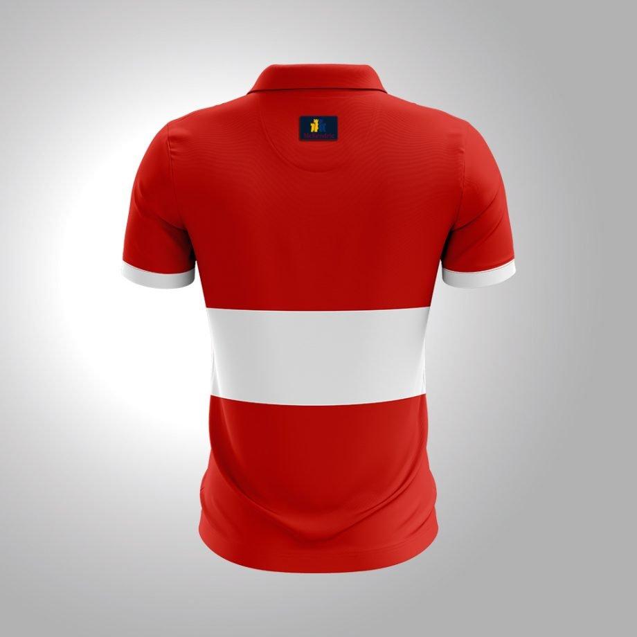 McKendric Xtreme Performance polo shirt Man Back Renfrew