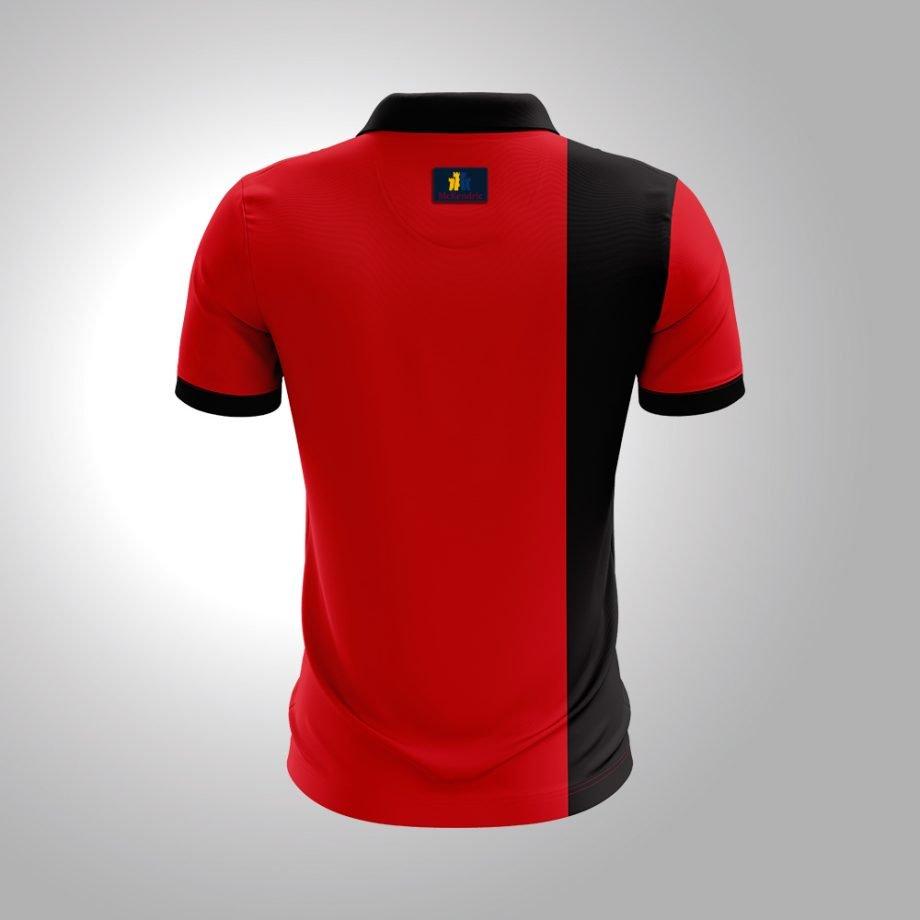 McKendric Xtreme Performance polo shirt Man Back Rutherglen
