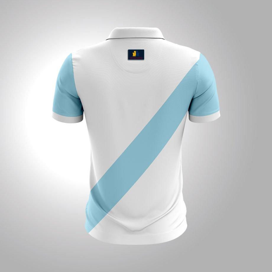 McKendric Xtreme Performance polo shirt Man Back Stockholm