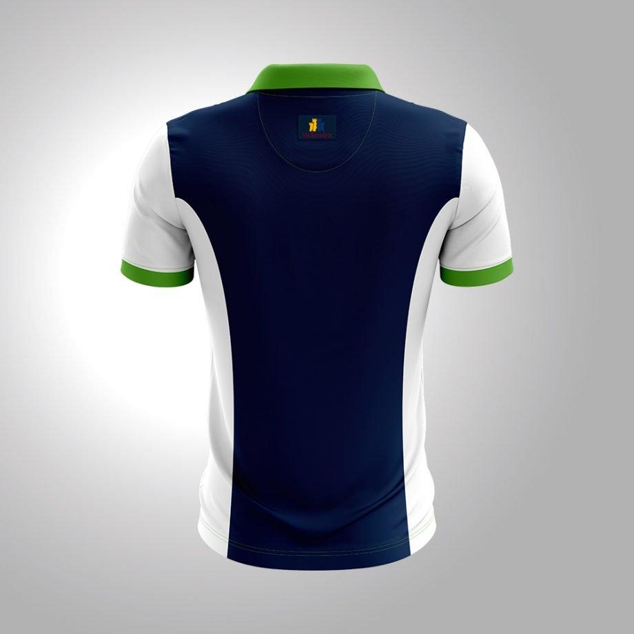 McKendric Xtreme Performance polo shirt Man Back Thornleebank