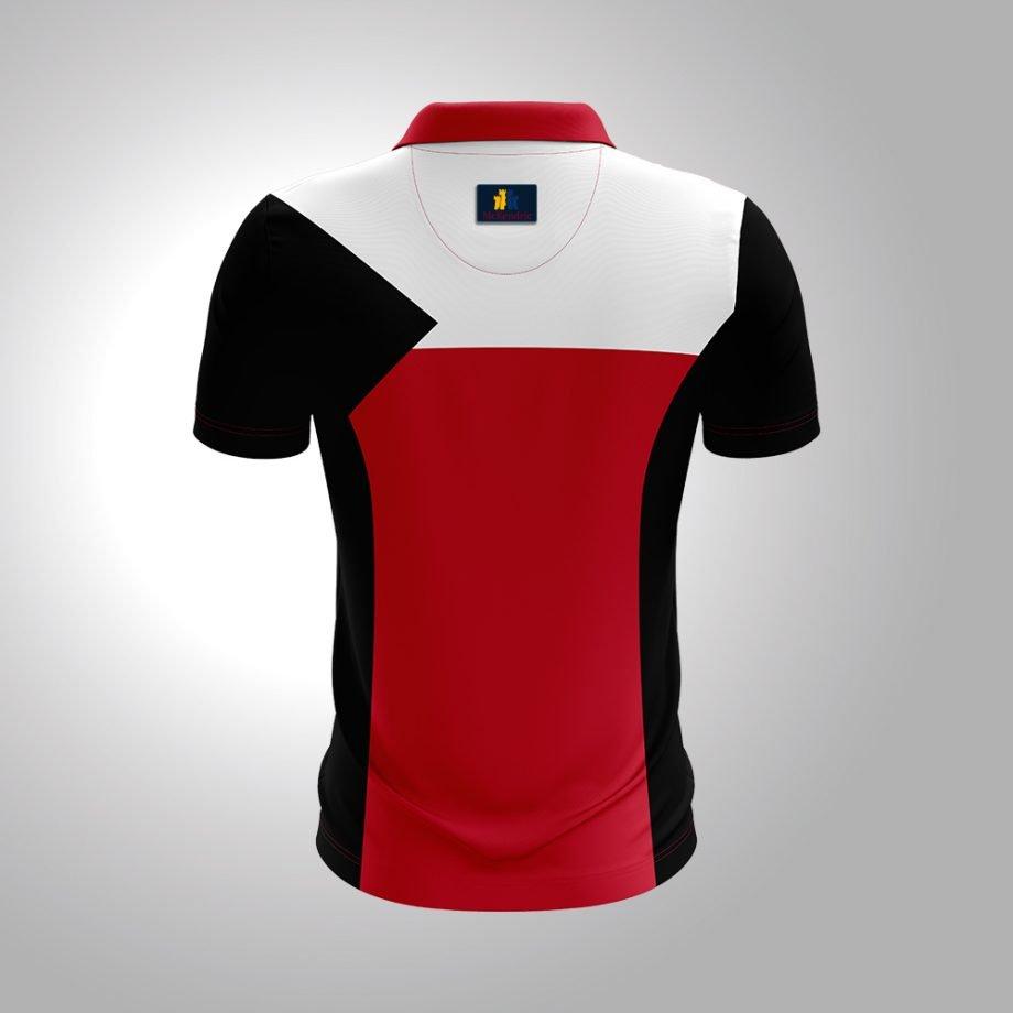 McKendric Xtreme Performance polo shirt Man Back Vittis