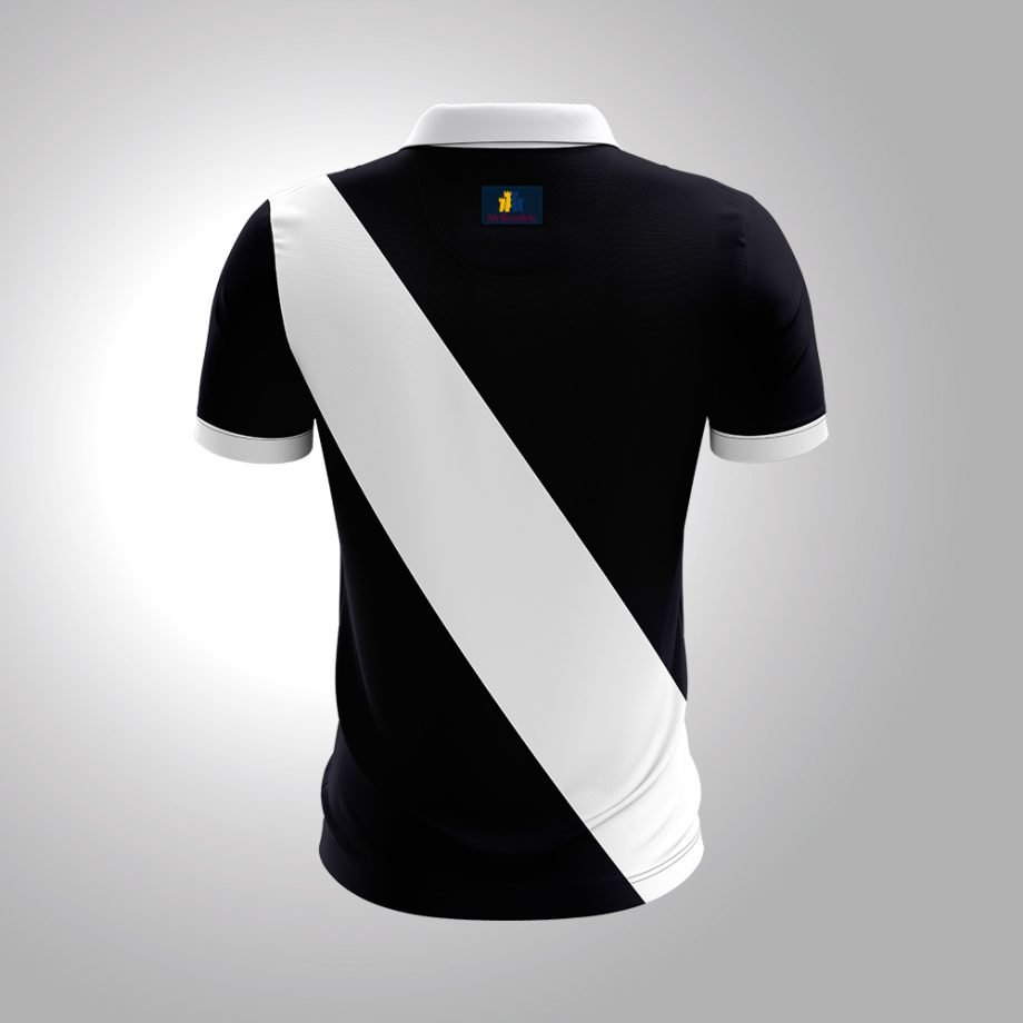 McKendric Xtreme Performance polo shirt Man Back Wishaw