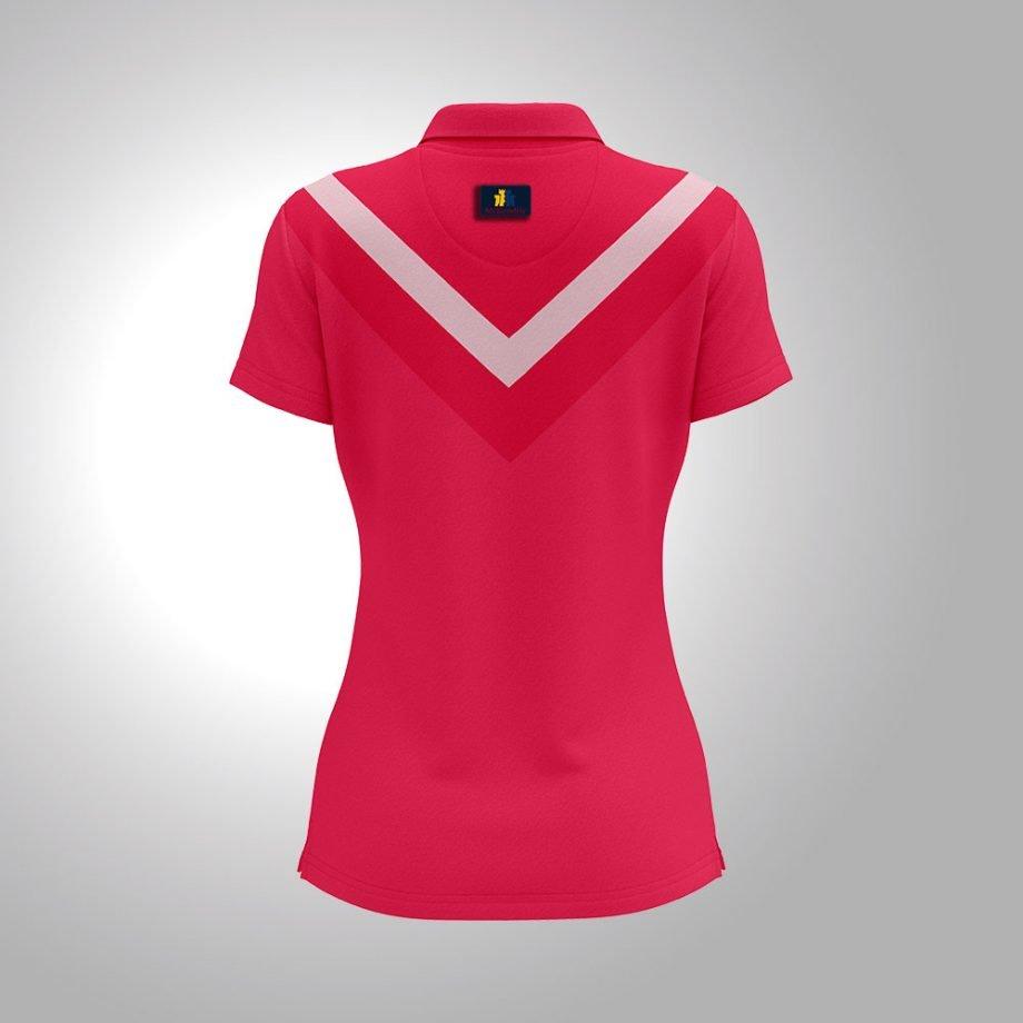 McKendric Xtreme Performance polo shirt Woman Back Giffnock